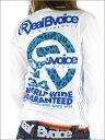 2010春新作!【RealBvoice】定番ロゴ+豹柄フロッキープリント!ロングスリーブTEEシャツ2010春新作!【Real Bvoice】リアルビーボイスレディース ロンTシャツ(WOMEN'S 長袖 TEE)