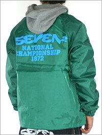【SEVEN2】セブンツーフード付きウインドブレーカーフード取り外し可能《GREEN》〜XLまで有り。MEN'Sアウター