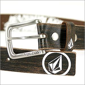 【VOLCOM】ボルコムMEN'SBELT(ベルト)BLKPVC(ポリ塩化ビニル)ベルト29〜35inch対応