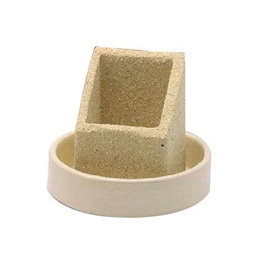 信楽焼気化式加湿器 shikaku LG09-SG-SS 自然蒸発 多孔質陶器 浸透蒸散 吸収 インテリア オブジェ エコ