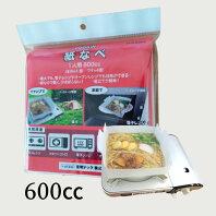 紙なべ600ccTKN-60HV(1人用)(4個入り)/紙鍋天然パルプ素材キャンプ釣り防災グッズアウトドア