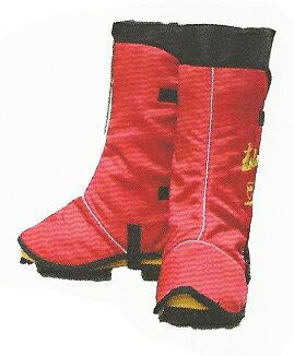 チェンソー防護用防護脚絆