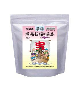 Auspicious happiness bath (29.25 g x 7 packages) 10P28oct13
