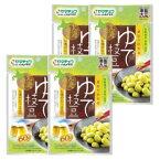 えだ豆 ゆで枝豆60g×4袋 送料無料 おつまみ サラダ 亜鉛大豆使用