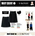MARY QUANT×U-FACTORYコラボ商品ユニオンジャックをイメージジャケットの2種類のスカートM33011M33021マリークヮントユーファクトリー