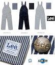 Lee workwear  オーバーオール 古き良き時代を現代に 胸元のポケットがアクセント 男女兼用 Lee LEE LWU39002