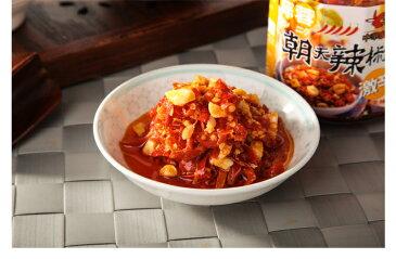 ニンニク にんにく入り辛味調味料 老騾子牌蒜蓉朝天辣椒 中華料理人気食材調味料 台湾名物 炒め物や麺類、タイ類の辛味調味料におすすめ