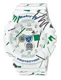 【あす楽対応商品】カシオ海外モデルBaby-G ジオメトリックデザイン BA-120SC-7A