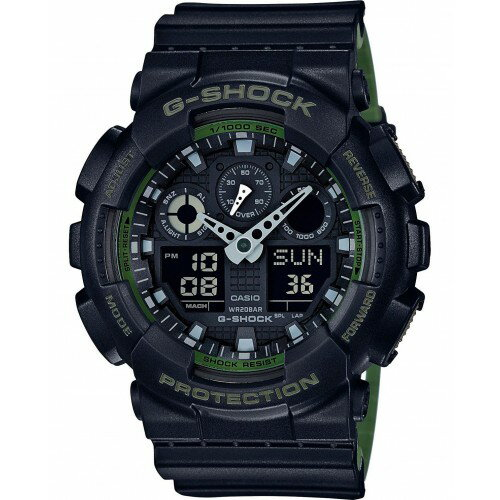 CASIO G-SHOCK military watch G-SHOCK GA-100L-1A