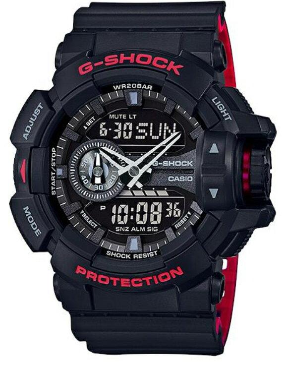 CASIO G-SHOCK Red watch G-SHOCK Black Red Series...