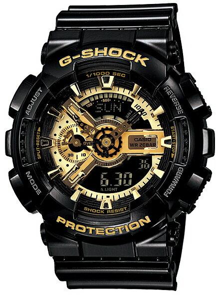 腕時計, メンズ腕時計 G-SHOCK COMBINATION GA-110GB-1A