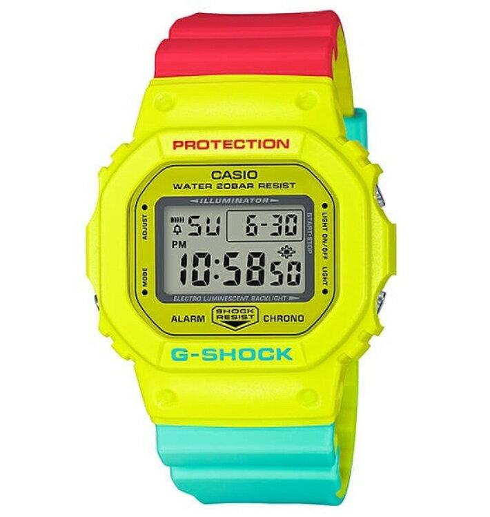 腕時計, メンズ腕時計 G-SHOCK Breezy Rasta ColorDW-5600CMA-9