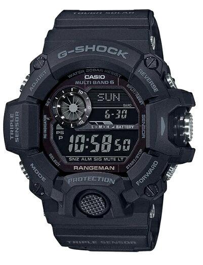 腕時計, メンズ腕時計 G-SHOCK RANGEMAN GW-9400-1B