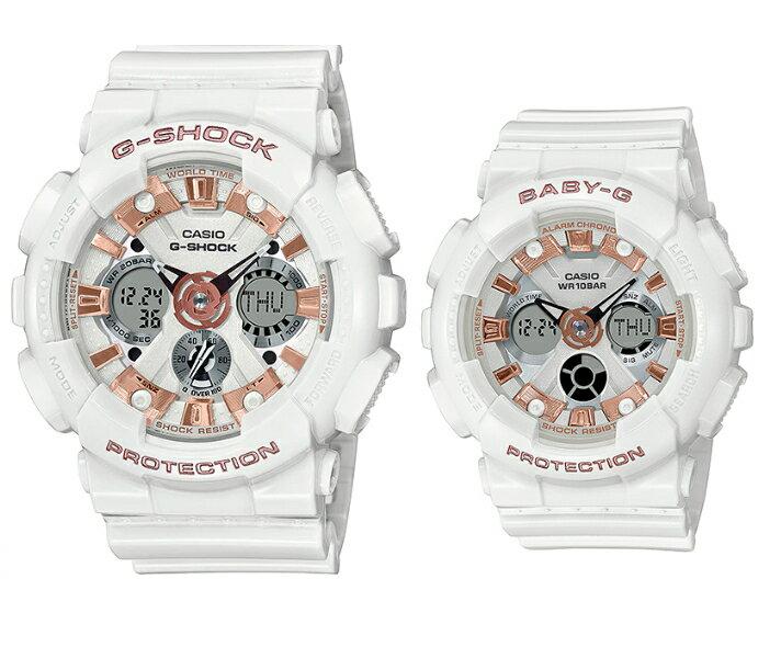 腕時計, ペアウォッチ 2020 G-SHOCKBaby-G LOV-20A-7A