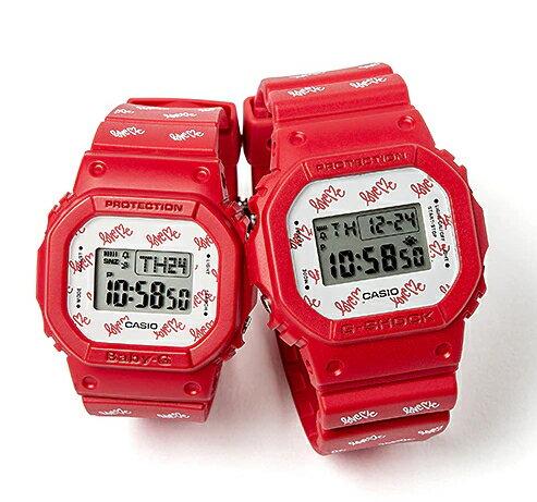 腕時計, ペアウォッチ 2020 G-SHOCKBaby-G LOV-20B-4