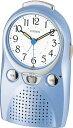 【お取寄せ品】シチズンめざまし時計「伝言くんルージュW」4SE521-004
