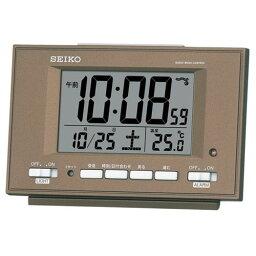 【お取寄せ品】セイコークロック電波目覚まし時計SQ778B