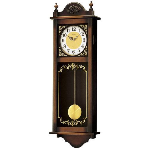 【お取寄せ品】!セイコー掛時計「チャイム&ストライク」RQ307A:T.Time