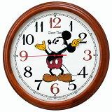 【お取寄せ品】セイコークロック ディズニータイム ミッキー&フレンズ電波掛時計 FW582B