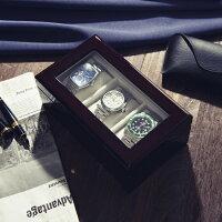 腕時計収納ケース3本収納木製高級ウォッチボックスケースIG-ZERO40A-540A-5W