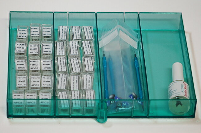 IGIMIオリジナル 電池ボックス 5段式 【電池/部品/備品/収納】【RCP】10P01Feb14