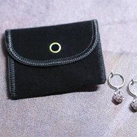 ジュエリーポーチ携帯用アクセサリー袋5カラー【3つ購入でメール便送料無料】スエードベルベット素材可愛いオシャレエレガント小物袋アクセサリー入れ