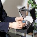 ウォッチワインディングマシーン 1本巻 黒木目 マブチモーター搭載 IG-ZERO 109-1 ラッピング無料 プレゼント 2
