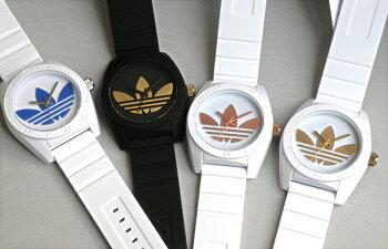 アディダスadidasoriginalsサンティアゴSANTIAGOADH2921ホワイト×ブルー白青トレフォイルメンズレディースユニセックス腕時計時計ペアウォッチウォッチ海外直輸入品母の日父の日入学祝い