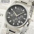 ★送料無料 ARMANI EXCHANGE アルマーニエクスチェンジ AX2092 Withクリスタルマーカー メンズ メタル 腕時計 時計 クロノグラフ 海外モデル