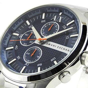 ARMANIEXCHANGEアルマーニ・エクスチェンジAX2155ネイビーブルーメンズ腕時計クロノグラフ海外モデル