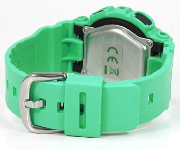 CASIOカシオBaby-GベビーGBigCaseSeriesビッグケースシリーズBA-111-3A海外モデルレディース女性用腕時計ウォッチ樹脂バンド多機能クオーツアナログデジタル緑グリーン