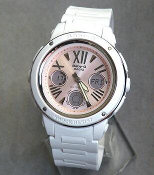 CASIOカシオBaby-GベビーGBGA-152-7B2海外モデルアナデジモデルアナログデジタル白ホワイトピンクレディース腕時計レディース腕時計時計【bigcase】【BABYG】