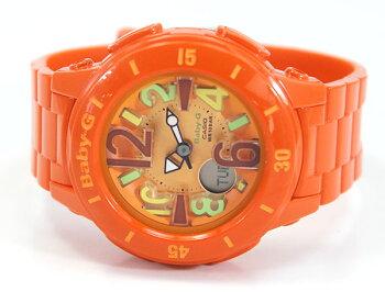 CASIOカシオBaby-GベビーGネオンマリンシリーズBGA-171-4B2海外モデルレディース腕時計ウォッチビビッドカラーオレンジ