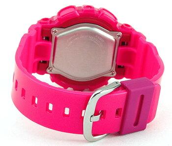 CASIOカシオBaby-GベビーGBA-112-4A海外モデルレディース女性用腕時計ウォッチウレタンバンドクオーツアナログピンク
