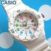 【3ヶ月保証】CASIO チープカシオ チプカシ スタンダード 腕時計 時計 LRW-200H-7B海外モデル 白 ホワイト レディース腕時計 カジュアル ウォッチ 時計 スポーツ デザイン 海外モデル チープカシオ チプカシ 誕生日 ギフト