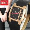DIESELディーゼルCLIFFHANGERクリフハンガーDZ5441海外モデルレディース腕時計ウォッチ革バンドレザークオーツアナログ黒ブラック金ピンクゴールド