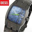 ディーゼル 時計 DIESEL CERAMIC DZ1602 ガンメタル ブルー 海外モデル クリフハンガー