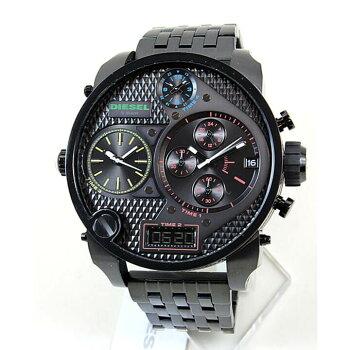 ★送料無料ディーゼル時計DIESELMR.DADDYDZ7266マルチカラー×ブラック黒メンズ腕時計ステンレスバンド海外モデル夏物誕生日ギフト