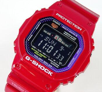 送料無料CASIOカシオG-SHOCKGショックメンズレディース腕時計時計電波ソーラーG-LIDEGWX-5600C-4赤レッド海外モデルソーラー電波タイドグラフムーンデータ【smtb-KD】【RCP】