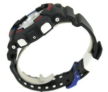 CASIOカシオG-SHOCKジーショックGA-120TR-1A海外モデルメンズ腕時計ウォッチクオーツアナログデジタル黒ブラックトリコロール