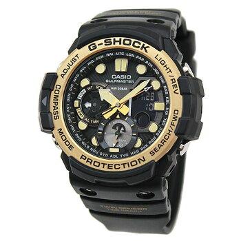 CASIOカシオG-SHOCKジーショックGULFMASTERMASTEROFGマスターオブGVintageBlack&GoldGN-1000GB-1A海外モデルメンズ腕時計ウォッチクオーツ黒ブラック金ゴールド