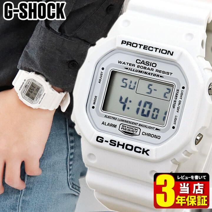 腕時計, メンズ腕時計 CASIO G-SHOCK G Marine White DW-5600MW-7