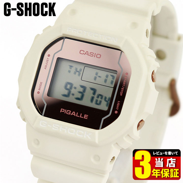 CASIO G-SHOCK white CASIO G-SHOCK G DW-5600PGW-7...