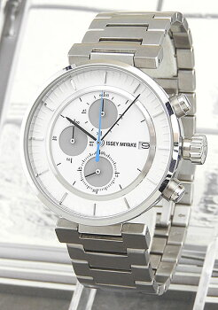 ISSEYMIYAKEイッセイミヤケWダブリューメンズ腕時計時計ウォッチSILAY007シルバー×ホワイト国内正規品夏物誕生日ギフト