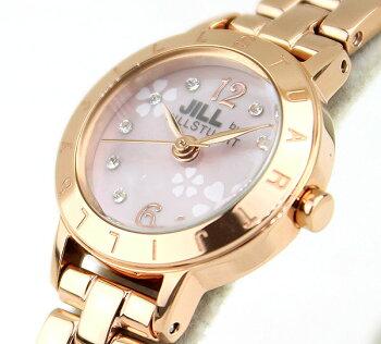SEIKOセイコーJILLbyJILLSTUARTジルバイジルスチュアートNJAN701国内正規品レディース腕時計ウォッチメタルバンドクオーツアナログ金ピンクゴールド