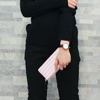 KateSpadeNEWYORKケイトスペードニューヨークmetoroメトロハッピーアワーストラップウォッチ選べる3種類海外モデルレディース女性用腕時計革バンドレザークオーツアナログ金ゴールド黒ブラックネイビー紺かわいいおしゃれ誕生日プレゼントギフト
