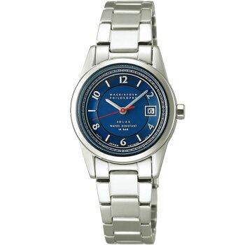 SEIKOセイコーMACKINTOSHPHILOSOPHYマッキントッシュフィロソフィーFDAD996国内正規品レディース女性用腕時計ウォッチメタルバンドソーラーアナログ青ブルー銀シルバー