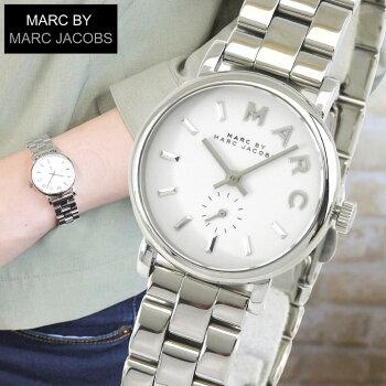 MARCBYMARCJACOBSマークバイマークジェイコブスBakerベイカーMBM3246海外モデルレディース腕時計時計クオーツシルバー