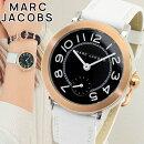 MarcJacobsマークジェイコブスRILEYライリーMJ1515レディース腕時計革ベルトレザー黒ブラック白ホワイト誕生日プレゼント女性ギフト海外モデル