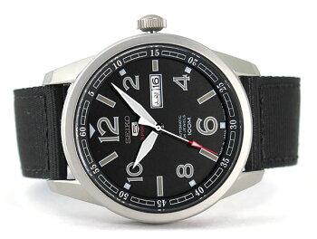 SEIKO5SPORTSセイコー5スポーツ自動巻きSRP625J1ブラック黒日本製madeinjapanメンズ腕時計男性用時計ウォッチスクリューバック